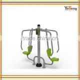 Gym Fitness Equipment Multi Body Strong Machine Double Seated Chest Press In Park