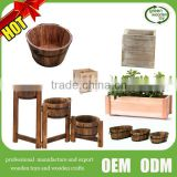 2016 Top new wooden flower pot , Hot wooden flower Planters for sale                                                                         Quality Choice
