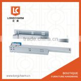300mm -500mm soft close Concealed Undermount Full Extension Slide from undermount self closing drawer slides factory