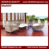 MA105H High End Custom Make Outdoor Rattan Sofa Set For Hotel Living Room Hotel Resort Furniture