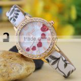fashion ladies quartz select watch leather strap women's wrist watches movements