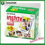 5 Packs 50 Sheets Film Fuji Fujifilm Instax Mini Instant Polaroid Camera 300 7S 8 25 30 50S                                                                         Quality Choice