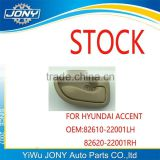 korea car stock selling auto parts hyundai accent accessories door inner handle OEM 82610-22001LH 82620-22001RH