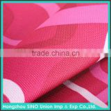 Woven colorful 1000d cordura 100 polyester printed fabric