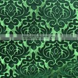 foil printed pu coated ef velboa fabric