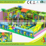 GMB-D010 kids play area of electric coconut tree soft rider---SIBO electronic