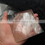 10cm large rock hand carved clear quartz crystal pyramid natural stone