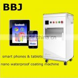 2016 New! All types smartphones waterproof nano coating machine for mobile phones pads cases waterproof mobile machine