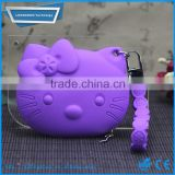 High quality hello kitty silicone coin pouch/purse/wallet                                                                         Quality Choice