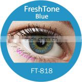 fresh tone contact lens 3 tone blue made in south Korea wholesale colored contacts
