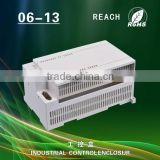 wall mounting plastic enclosure din rail