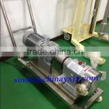 Factory Price!!!! 3RP series stainless steel beer sanitary rotary lobe pump with small vibration and low noise