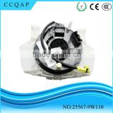 25567-9W110 High performance cheaper price auto parts airbag sensor spring clock spiral cable sub-assy for Teana