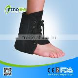 OL-AN051 Medical Adjustable Laced Ankle Brace