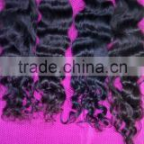 Top quality unprocessed natural raw virgin 100 percent indian remy human hair