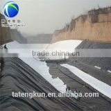 black white two sides compound HDPE smooth geomembrane,pond liner fish farm, ASTM standard