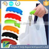 Colorful Portable Dish Silicone Knob Bag Carry Helper for Shopping Bag Handle Tool Clip Carry Grips