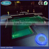 Super bright 8mm Side Glow Fibre Optic Light for Swimming Pool