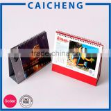 top class quality 2016 table calendar/wholesale desk calendar printing