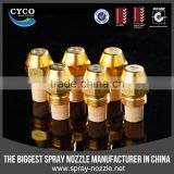 CYCO Used Siphone Oil Burner Nozzle,Hollow Cone Oil Nozzle,Metal SS/Brass Oil Burner Spray Nozzle