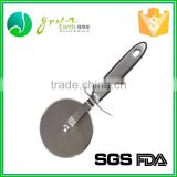 Wholesale 100% food grade Multi function stainless steel pizza peel High Quality Pizza Wheel Round Pizza Wheel Cutter