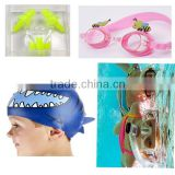 Silicone swimming products scuba diving equipment diving set for kids