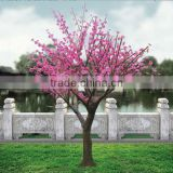beautiful branches outdoor decorative peach flower led tree light,led cherry flower tree,decorative tree