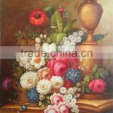 Flower Oil Painting on Canvas