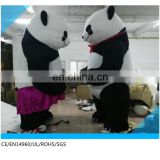 panda bear costume adult/ funny inflatable costumes for sale