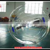 Cheap transparent inflatable water walking ball clear pvc inflatable beach ball inflatable water bubble ball