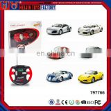 1:43 rc alloy car metal/die-cast remote control car full metal rc car