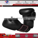 Thai Boxing Sparring yellow-Black Gloves