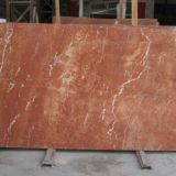 Coral red marble slabs & marble tiles