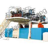 Skillful Manufacture PE Drum Machine Filling Automatic Water Tank Blow Machine