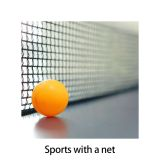 Nylon 2 m black and white durable Official Standard Table Tennis Net Badminton net volleyball net