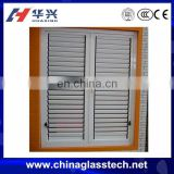 Corrosion resistant better ventilation aluminium louvre window