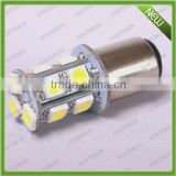 super White 1157 2057 2357 3496 13 T20 LED Corner Signal Parking Tail Lights Bulbs 13leds 5050smd