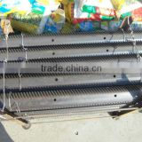 Agriculture Spare Parts Harvester Steel Rasp Bar