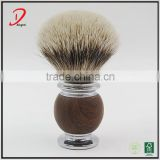 high quality metal shaving brush,silvertip badger hair knot shaving brush