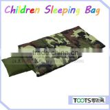 TOOTs Boys Camouflage Slumber Sack with pillow