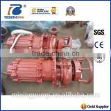 river boat used Vertical sand slurry pump with agitator