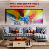 modern furniture decorative European styles wall art canvas abstract oil painting for living room