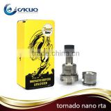 Fast Delivery! Newest Arrival 100% Original IJOY Tornado Nano RDTA and Sub ohm Tank in stock
