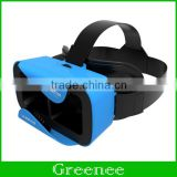 SMART VR SHINECON 3.0 3D Virtual Reality Glasses Helmet Oculus Rift Movie Game for 4.7 - 6 inches Smartphone