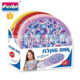 kids promotion goods flying ring disc for girls mini frisbee 10'' disc golf