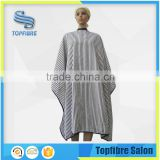 Fashion designed E10521 Soft Printed Polyester Hairdressing Cape                                                                         Quality Choice