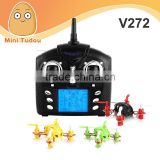 Newest Mini Quadcopter WL Toys Velocity V272 RC Quadcopter 4.0CH 2.4GHz Control Nano Size RC Quadcopter Mini Drone 3D Rotating