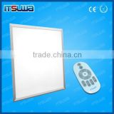 40W LED Panel Light/CE dimmable led flat panel/rgb led panel DTP72B60120 4 ropes hanging or concealed installation panel light