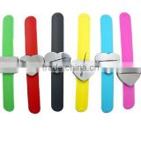 Wrist Strap Silicon Magnetic Bracelet for Metal Pin Clips