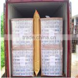 kraft paper recyclable container dunnage air bag for cargo protection